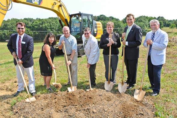 Blue Ridge Machine Works Groundbreaking