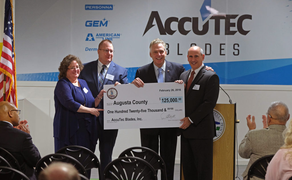 AccuTEC Blades - Augusta County Economic Development